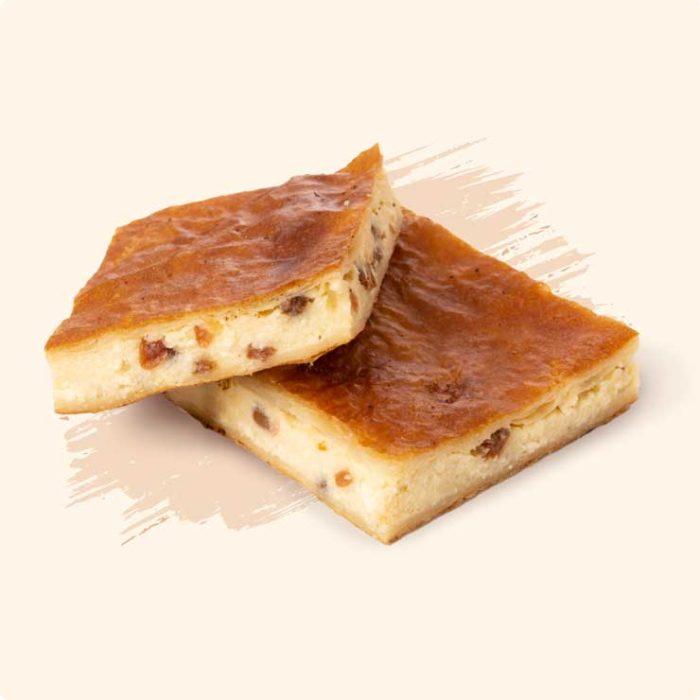 Placinta cu Brânză Dulce și Stafide